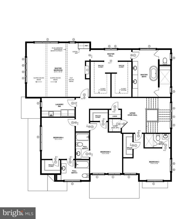 Upper Level Floor Plan - 4101 RICHMOND ST, ARLINGTON