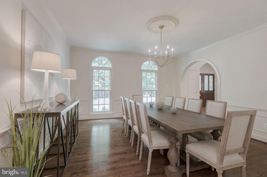 Formal Dining Room - 1125 BROOK VALLEY LN, MCLEAN