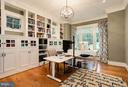 STYLISH HOME OFFICE WITH BUILT-INS - 5708 LITTLE FALLS RD N, ARLINGTON