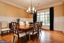 FORMAL DINING ROOM - 5708 LITTLE FALLS RD N, ARLINGTON