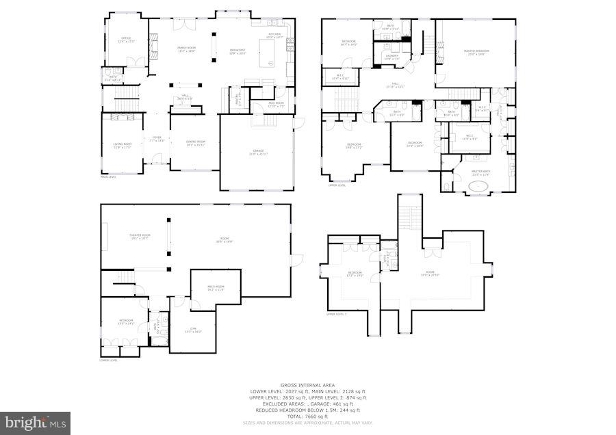 FLOORPLAN - 5708 LITTLE FALLS RD N, ARLINGTON