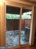 Sliding Glass Door Walk out to Back Yard - 2166 WHISPERWOOD GLEN LN, RESTON