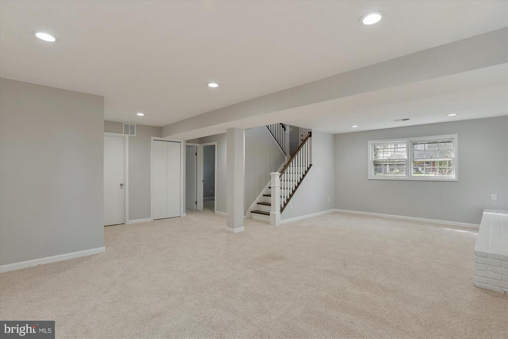 Basement - 7405 FENWOOD CT, MANASSAS