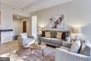 Living Room - 1530 KEY BLVD #110, ARLINGTON