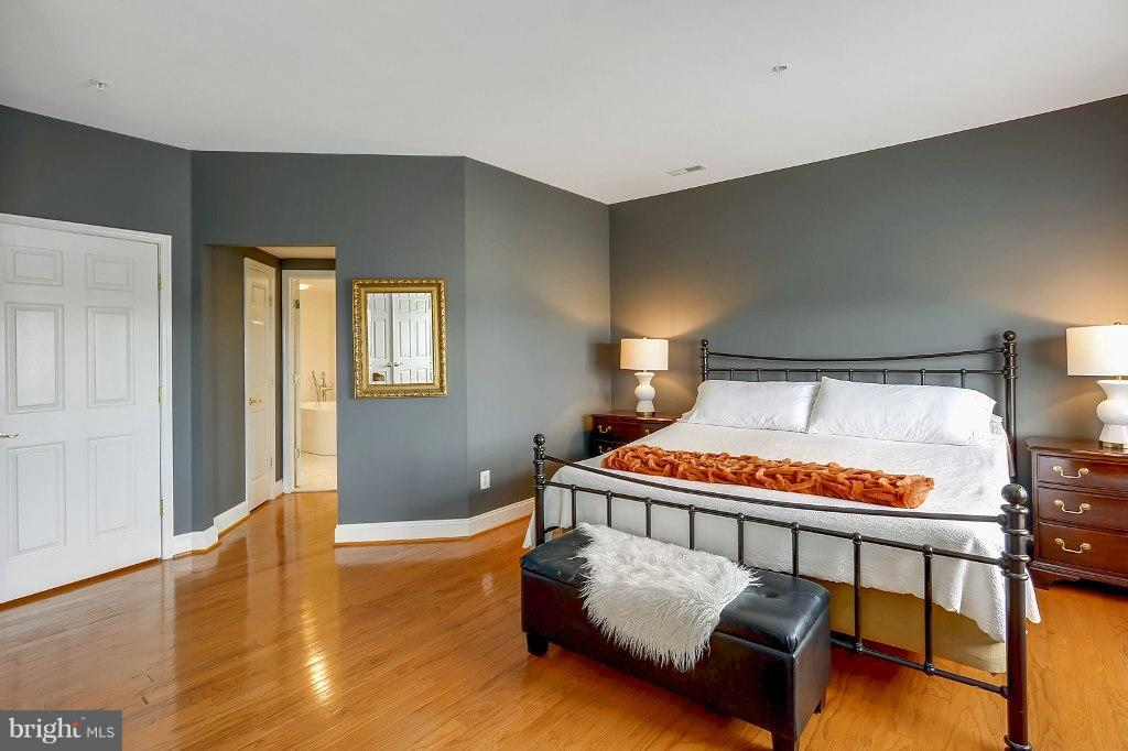 Master Bedroom with two large walk-in closets - 828 SLATERS LN #406, ALEXANDRIA