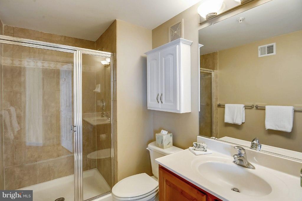 Ensuite Bathroom to Second Bedroom - 828 SLATERS LN #406, ALEXANDRIA