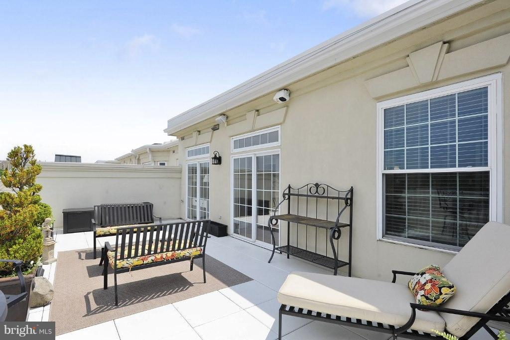 Gorgeous 34 ft. wide private terrace - 828 SLATERS LN #406, ALEXANDRIA