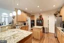 Kitchen - 6150 HATCHES CT, BURKE