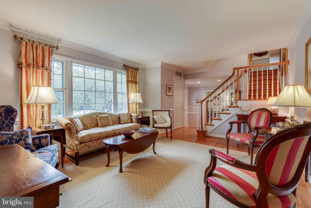 From the main hallway, this room invites everyone! - 1708 JUMPER CT, VIENNA