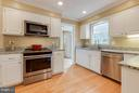 Lovely cabinets, and  so much countertop space! - 1708 JUMPER CT, VIENNA