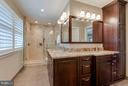 Completely remodeled- this bathroom is incredible! - 1708 JUMPER CT, VIENNA