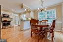 Both a kitchen bar and room for a table- Wonderful - 1708 JUMPER CT, VIENNA