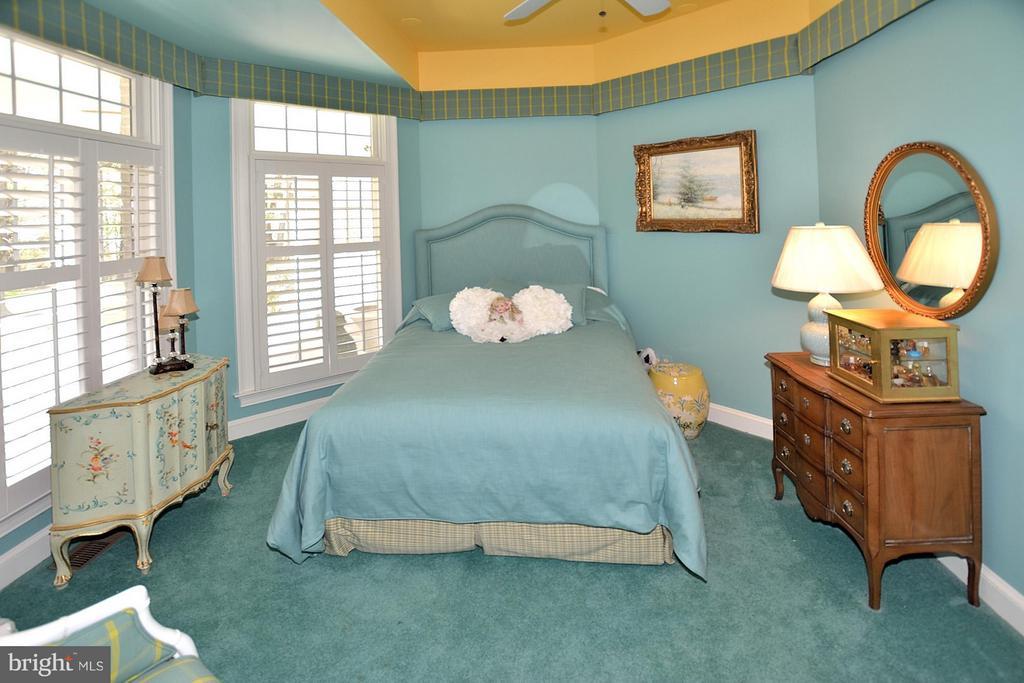 Main level 2nd BR with en suite bath - 3809 MILLCREEK DR, ANNANDALE