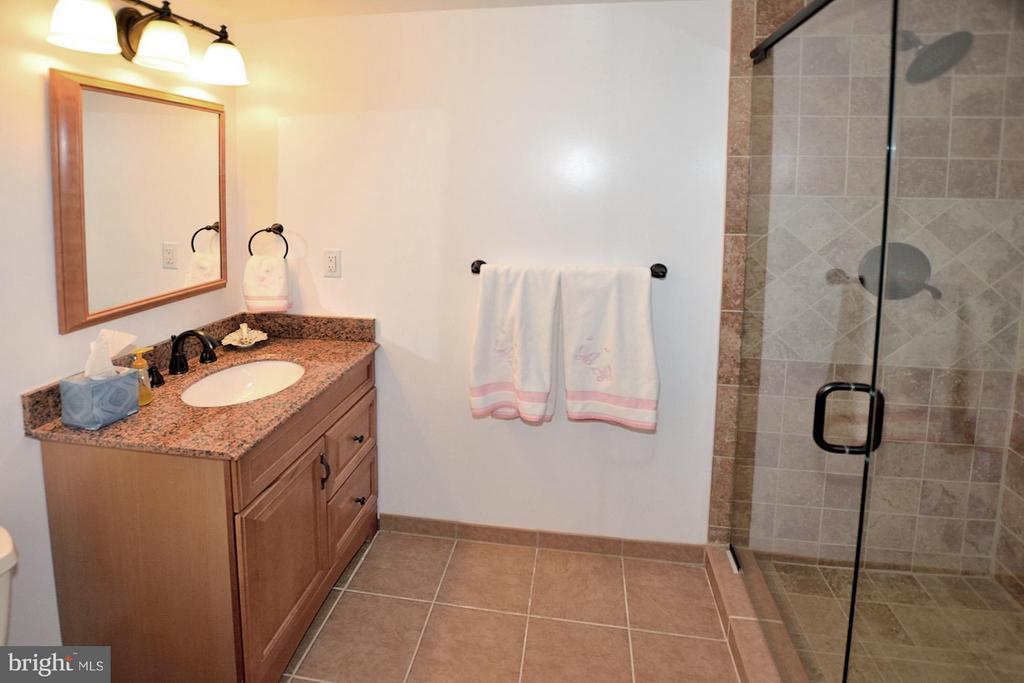 Lower level full bath - 3809 MILLCREEK DR, ANNANDALE