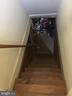Stairs to basement - 6005 GRAYSON ST, SPRINGFIELD