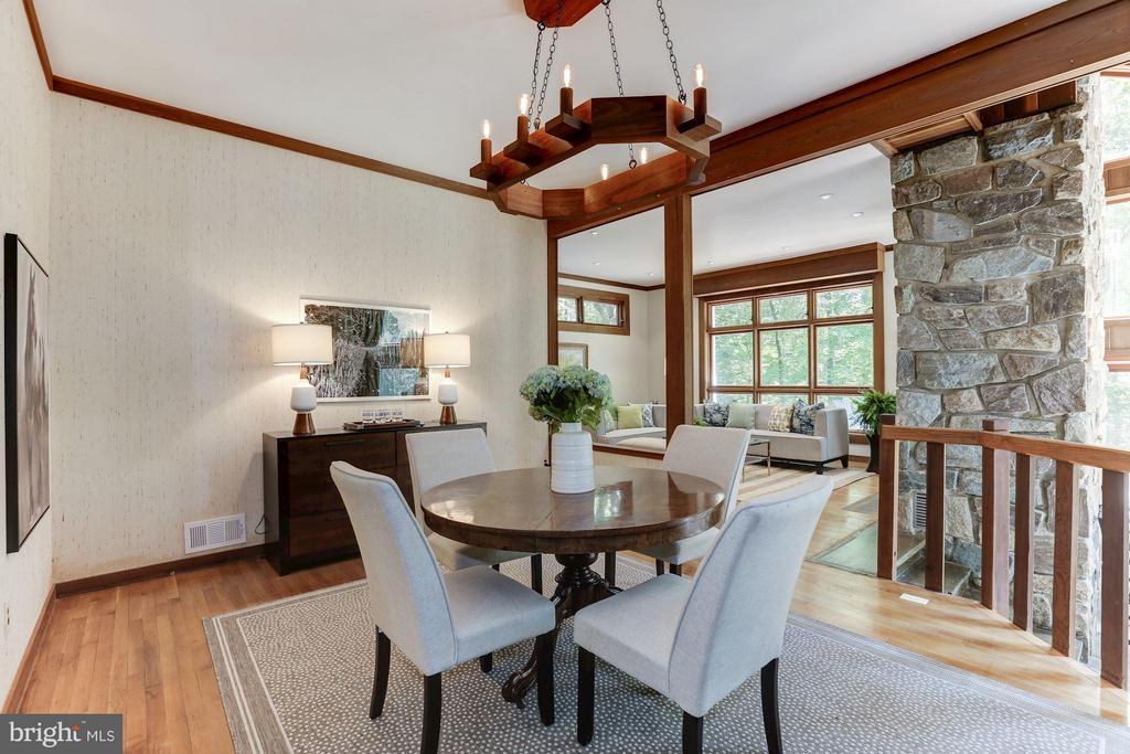 Dining Room - 10626 BEACH MILL RD, GREAT FALLS