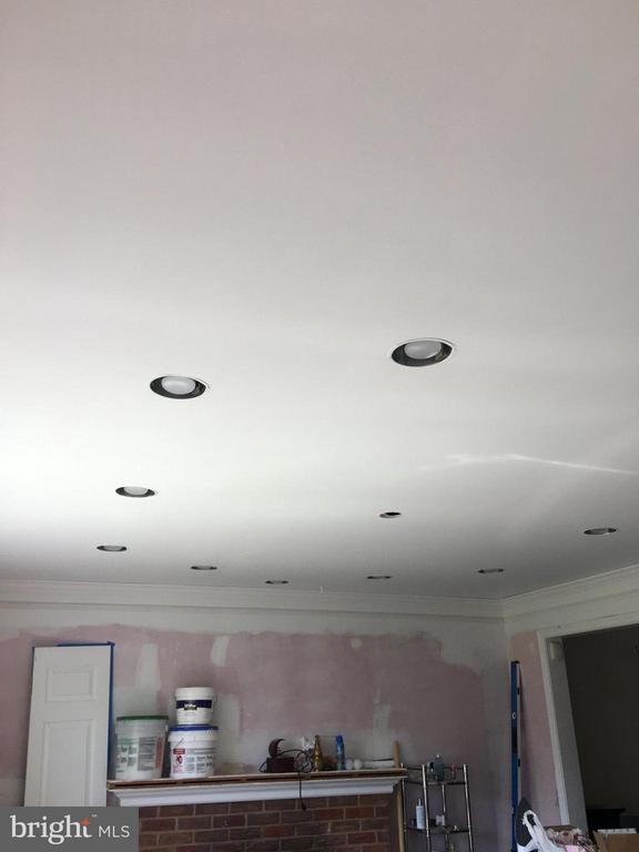 Recessed lighting in LR - 6005 GRAYSON ST, SPRINGFIELD