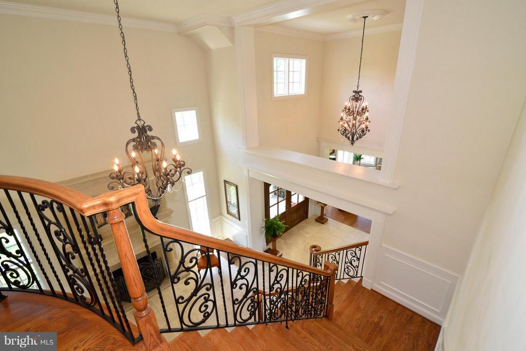 View from second floor - 41738 PUTTERS GREEN CT, LEESBURG