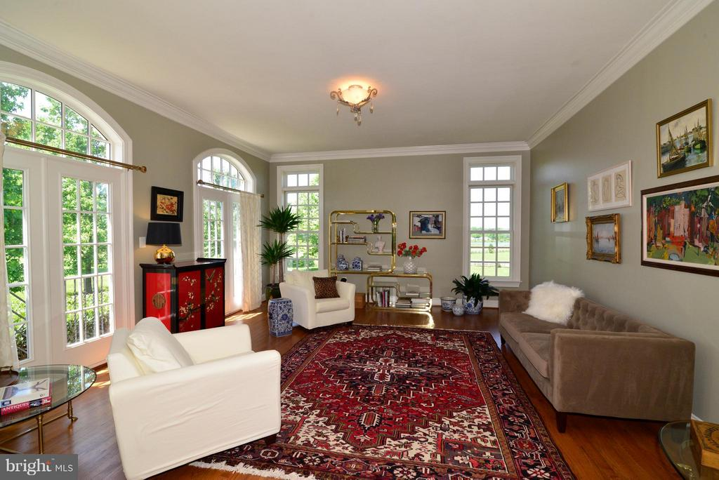 Front sitting room w/lots of windows - 41738 PUTTERS GREEN CT, LEESBURG