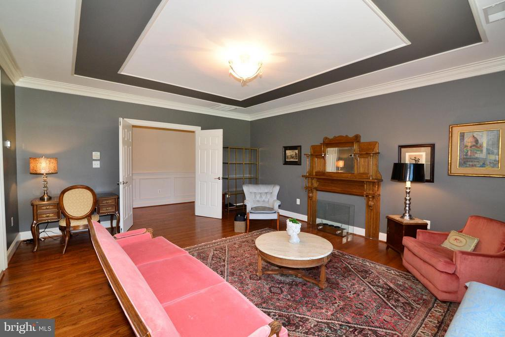Master Bedroom sitting area - 41738 PUTTERS GREEN CT, LEESBURG