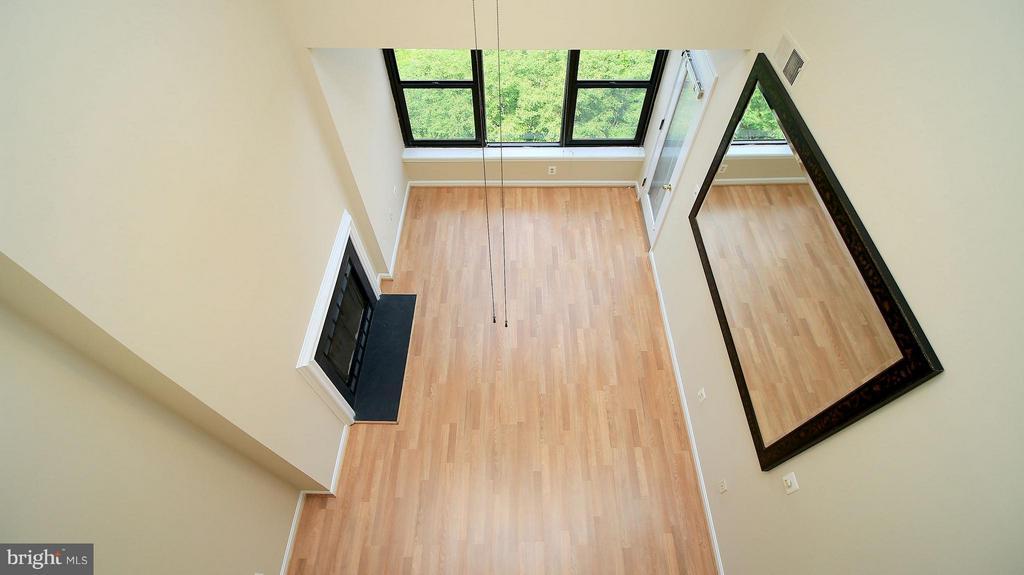 Living Room View from Loft - 1029N STUART ST N #712, ARLINGTON