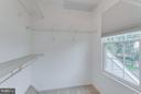 Master Bedroom Walk-in Closet - 3810 MARQUIS PL, WOODBRIDGE