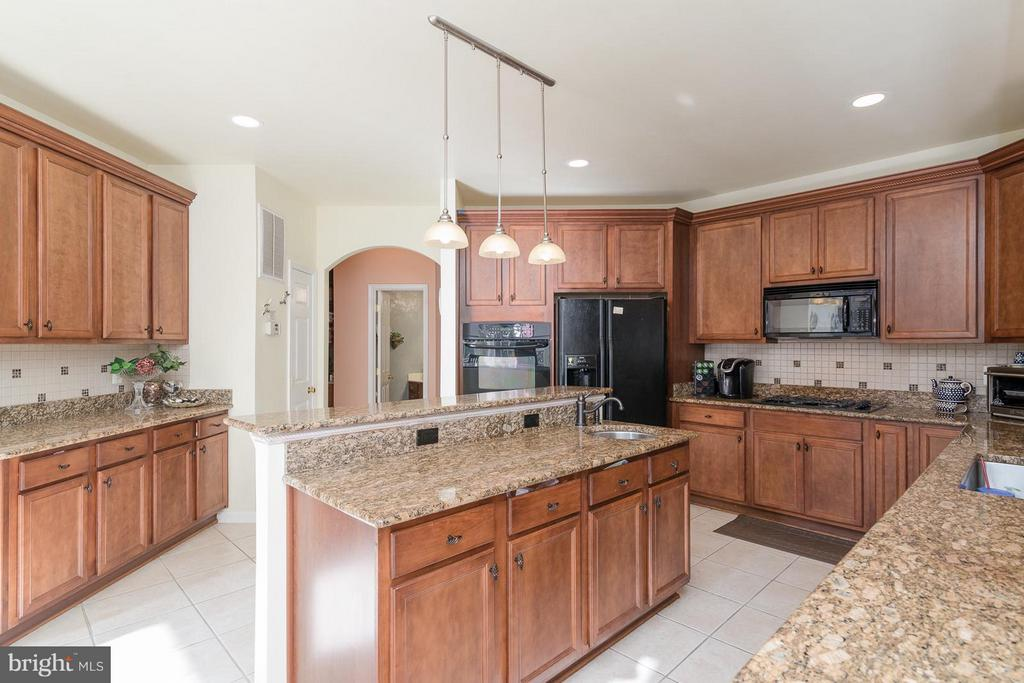 Gourmet kitchen is a chef's dream! - 21 WENTWORTH DR, FREDERICKSBURG