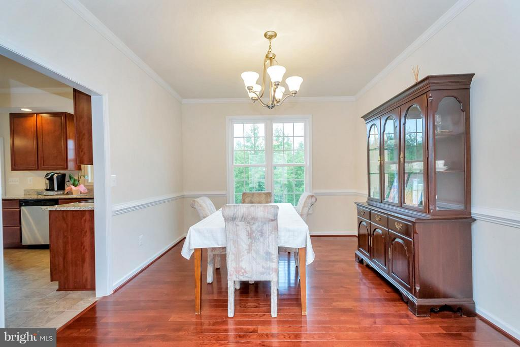Dining Room - 6754 THORNBROOK LN, SPOTSYLVANIA