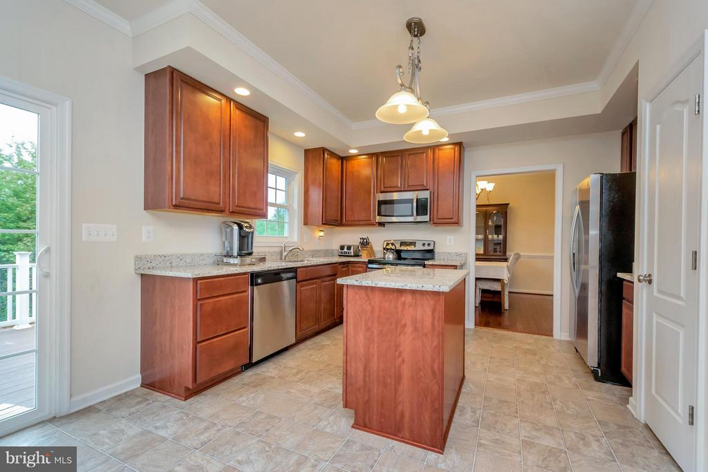 Kitchen - 6754 THORNBROOK LN, SPOTSYLVANIA