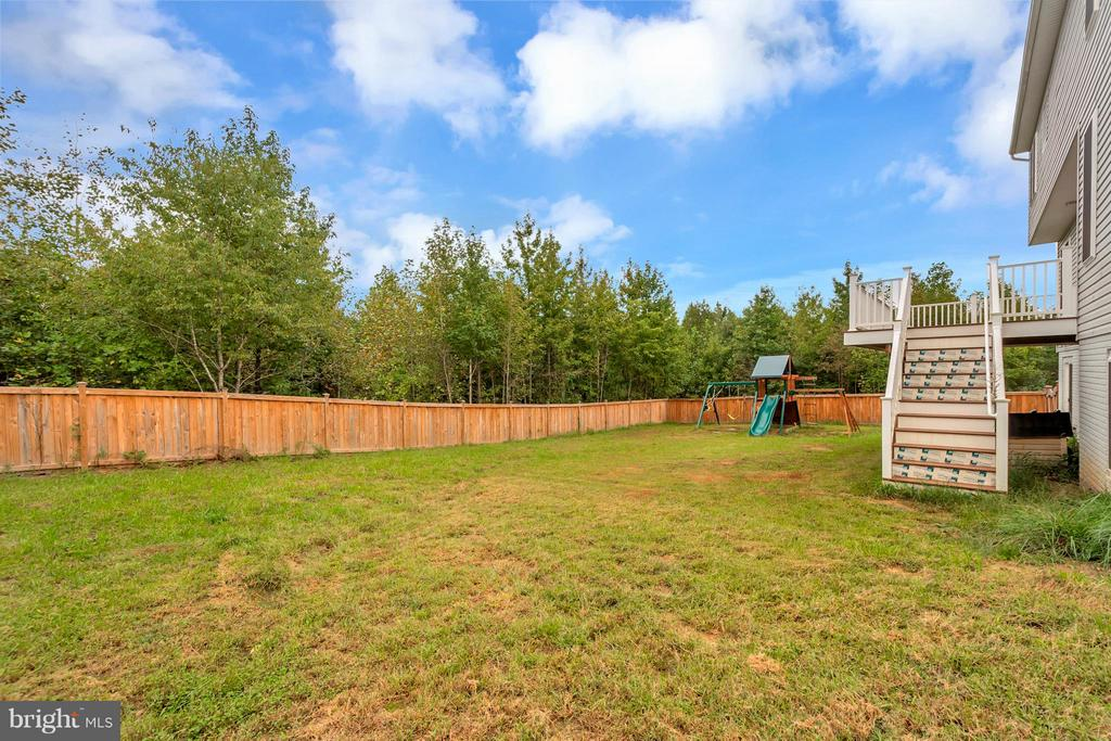 rear - 6754 THORNBROOK LN, SPOTSYLVANIA