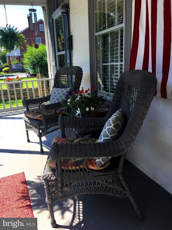 Front Porch to Welcome Your Friends - 1614 CAROLINE ST, FREDERICKSBURG