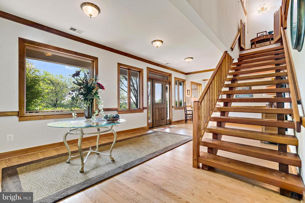 Warm and inviting light filled entry foyer/hall - 38581 DAYMONT LN, WATERFORD