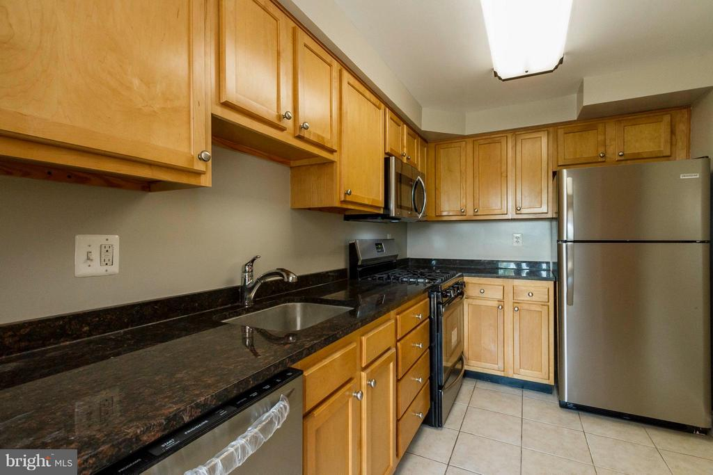 Kitchen with Granite - 750 DICKERSON ST #313, ARLINGTON