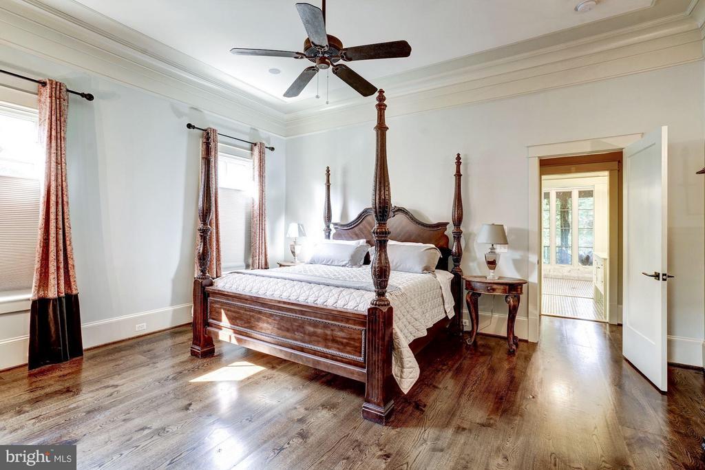 Main Level Master Bedroom Suite - 412 CHAIN BRIDGE RD, MCLEAN