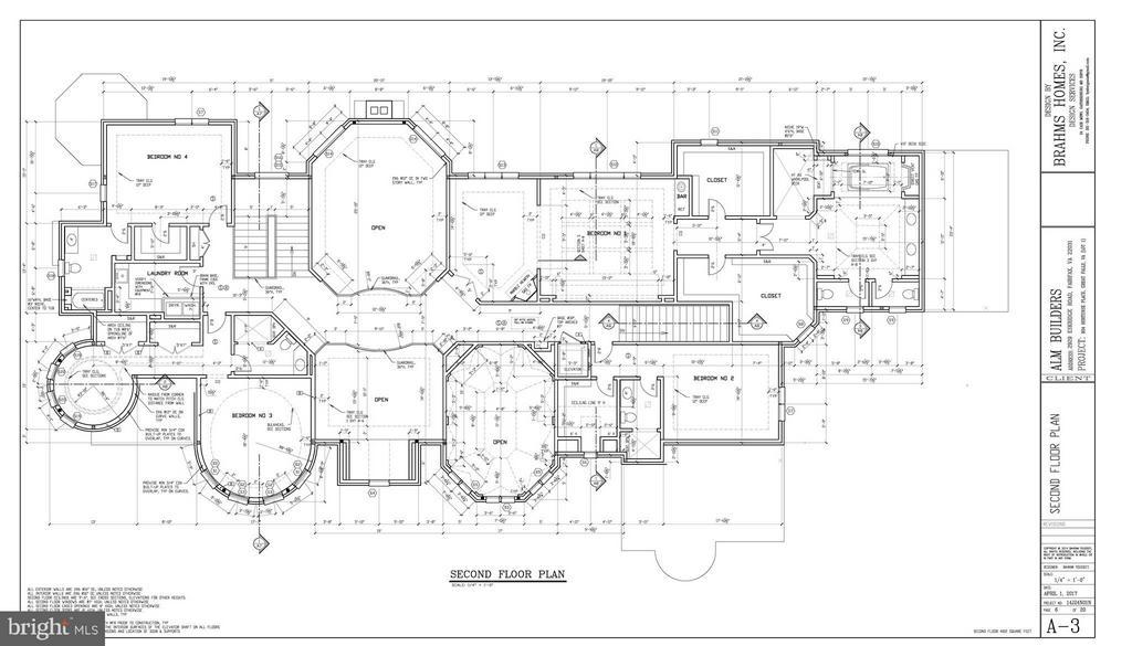 Second Floor Plan - 802 HORTENSE PL, GREAT FALLS