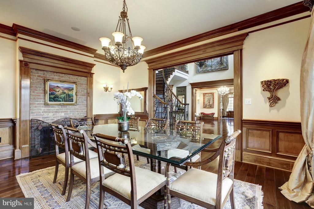Dining Room - 7629 BURFORD DR, MCLEAN