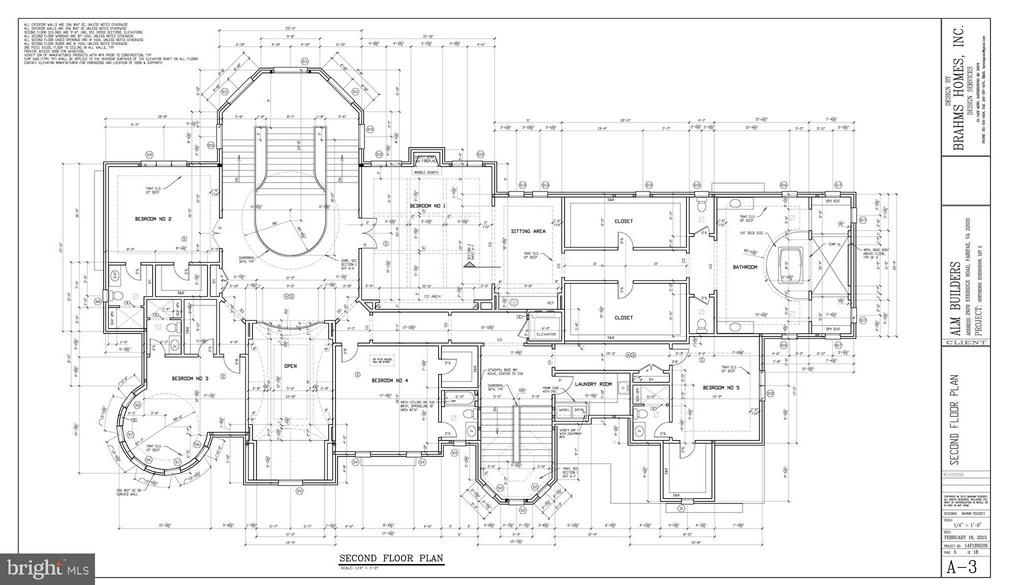 Second Floor Plan - 805 HORTENSE PL, GREAT FALLS