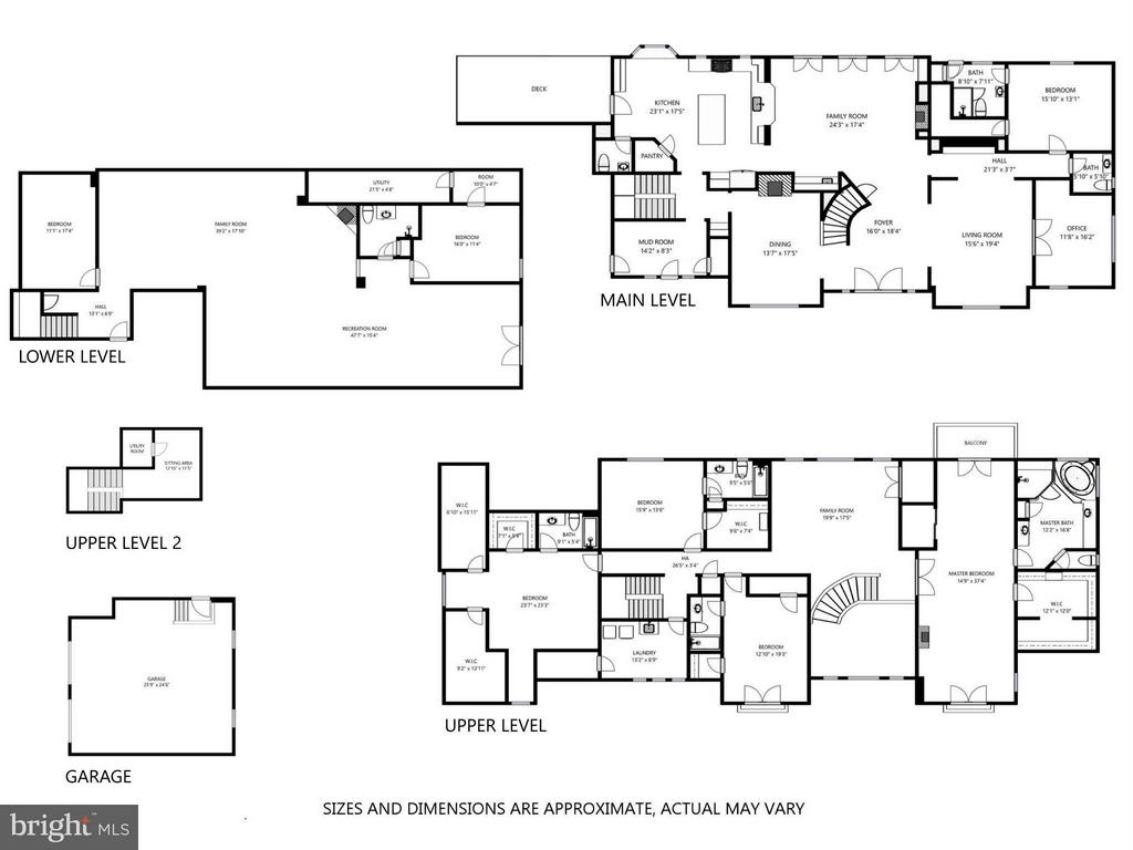 Floor Plan - 7629 BURFORD DR, MCLEAN