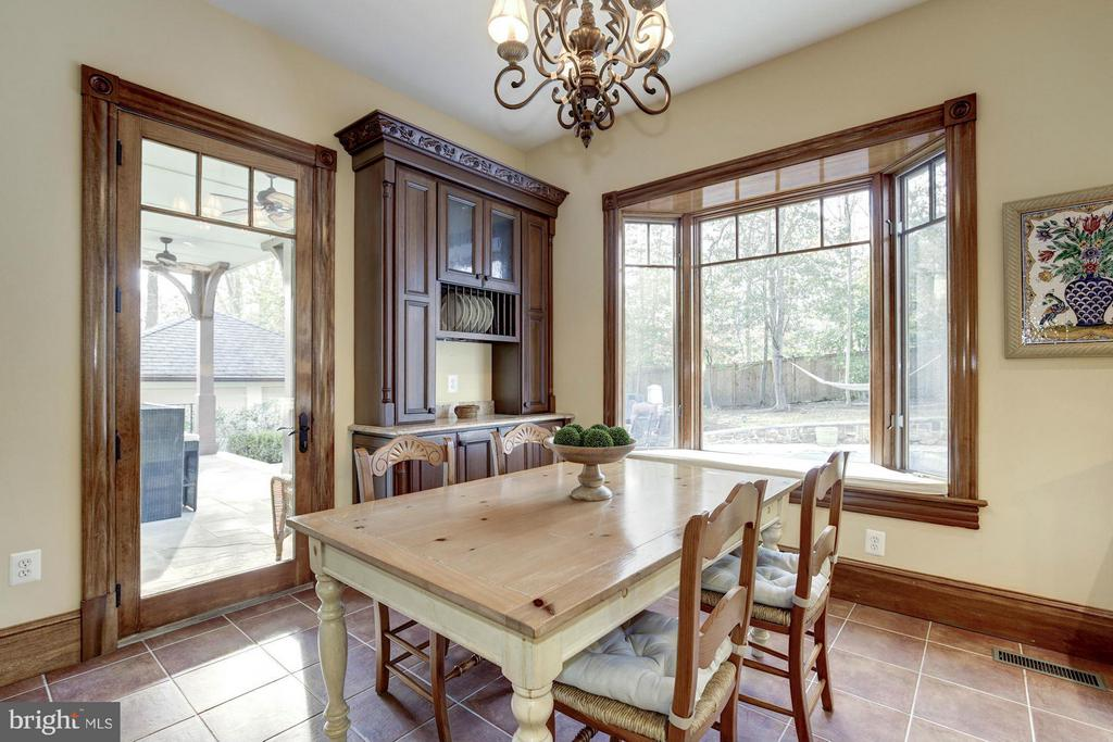 Breakfast Area - 7629 BURFORD DR, MCLEAN