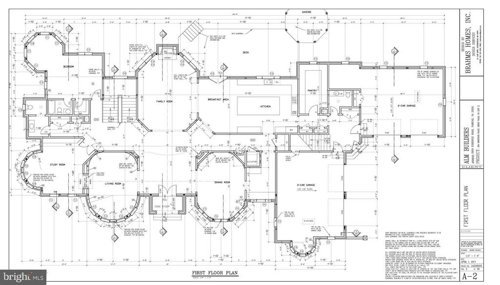 First Floor Plan - 802 HORTENSE PL, GREAT FALLS