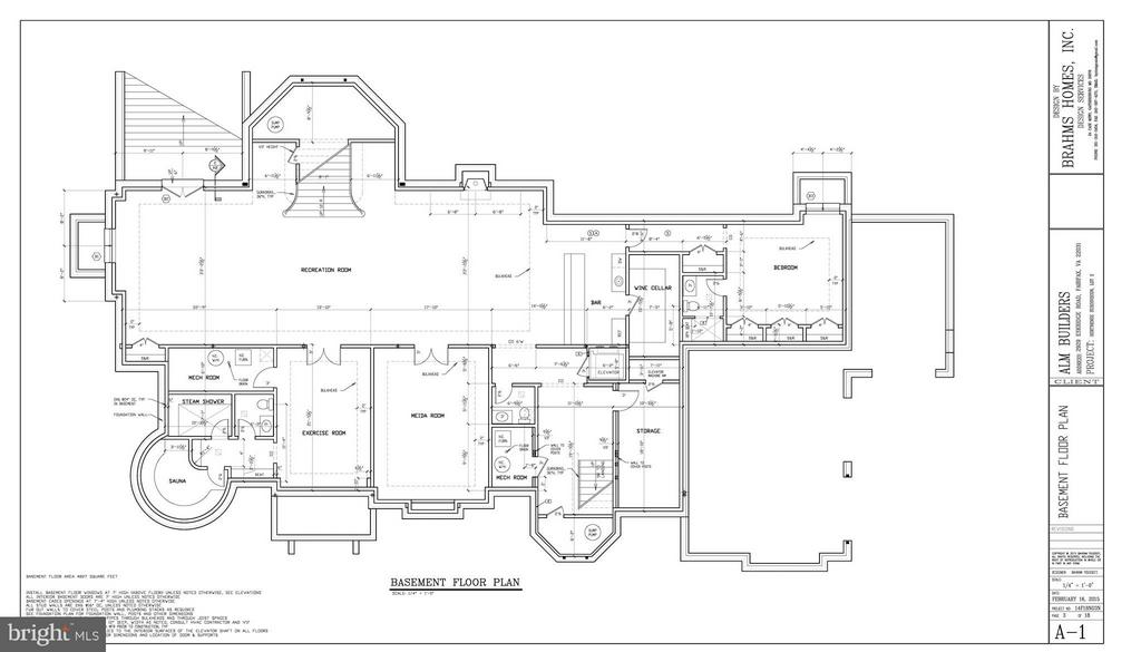 Lower Level Floor Plan - 805 HORTENSE PL, GREAT FALLS