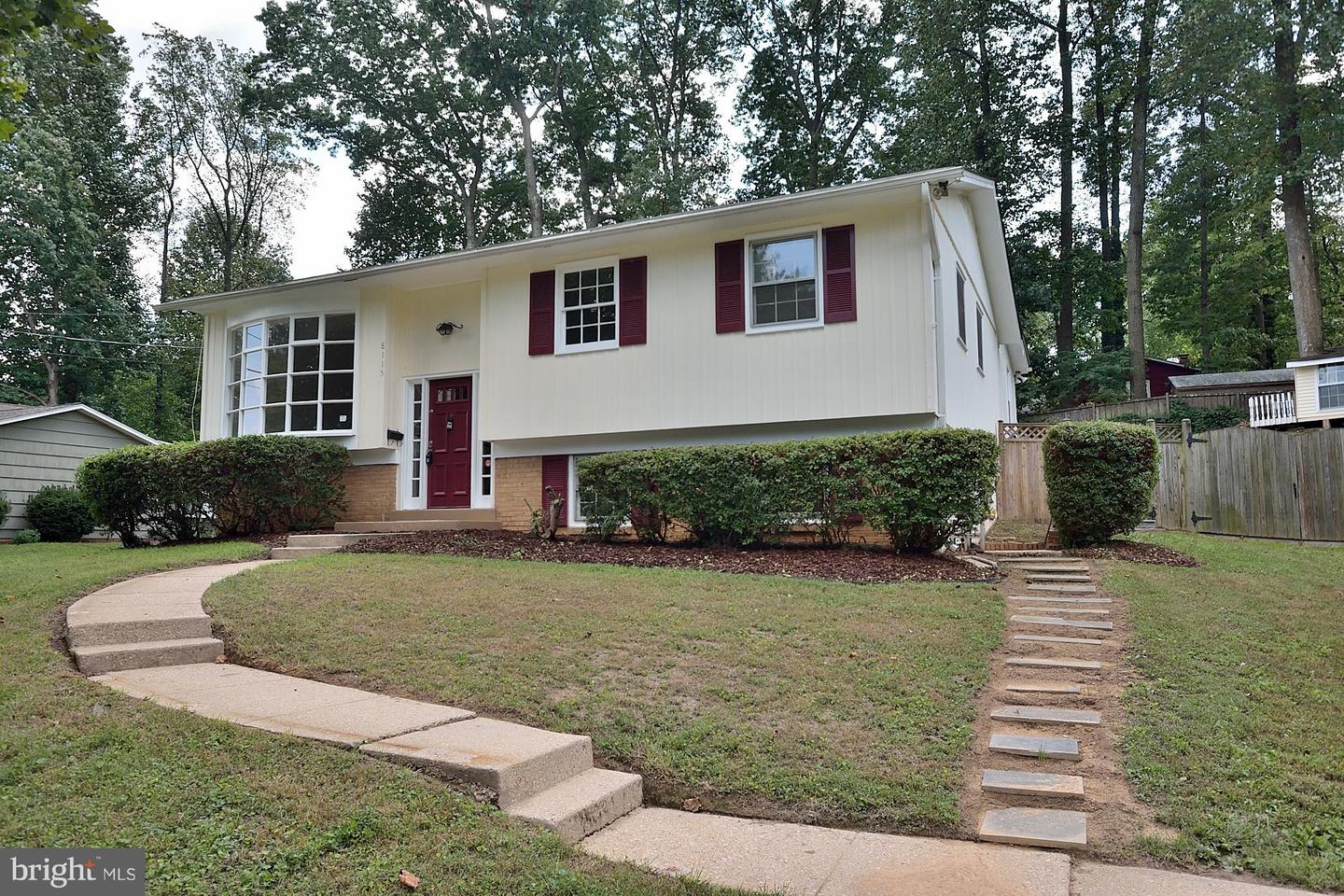 Photo of home for sale at 8115 Blairton Road, Springfield VA