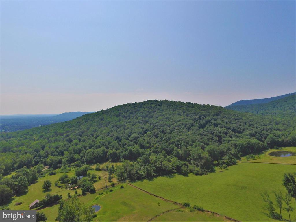 Overhead Mountain View - 41 OLD BROWNTOWN LN, HUNTLY