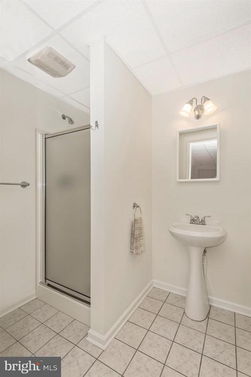 Lower level full bathroom - 12492 HOWARD LODGE DR, SYKESVILLE
