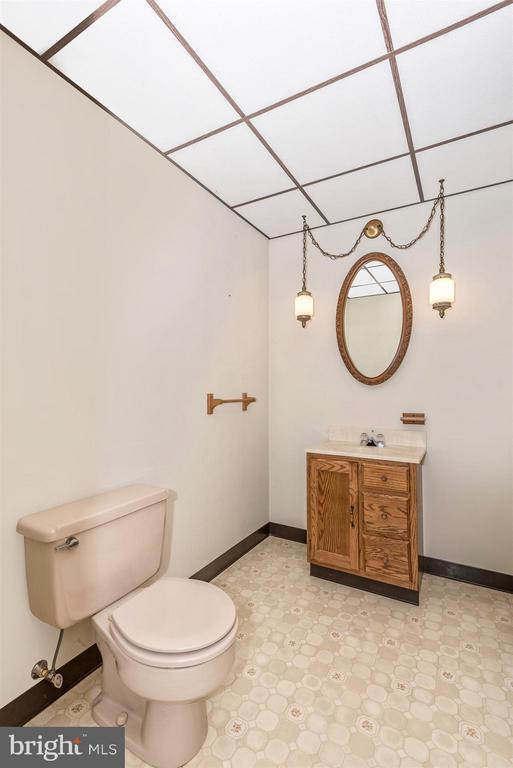 Lower level Powder Room - 12492 HOWARD LODGE DR, SYKESVILLE