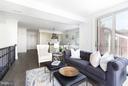Living Room - 2341 ASHMEAD PL NW #2, WASHINGTON
