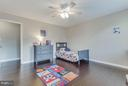 Large bedrooms - 8808 TELEGRAPH CROSSING CT, LORTON