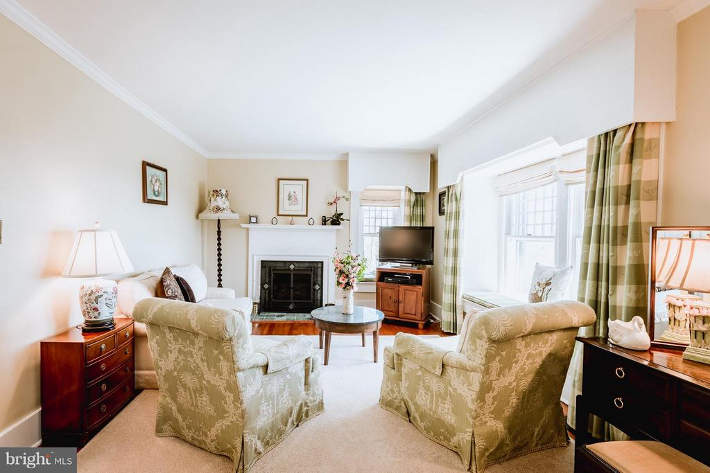 Living room-sized sitting area - 18490 BLUERIDGE MOUNTAIN RD, BLUEMONT