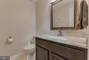 Powder room on main level - 8808 TELEGRAPH CROSSING CT, LORTON