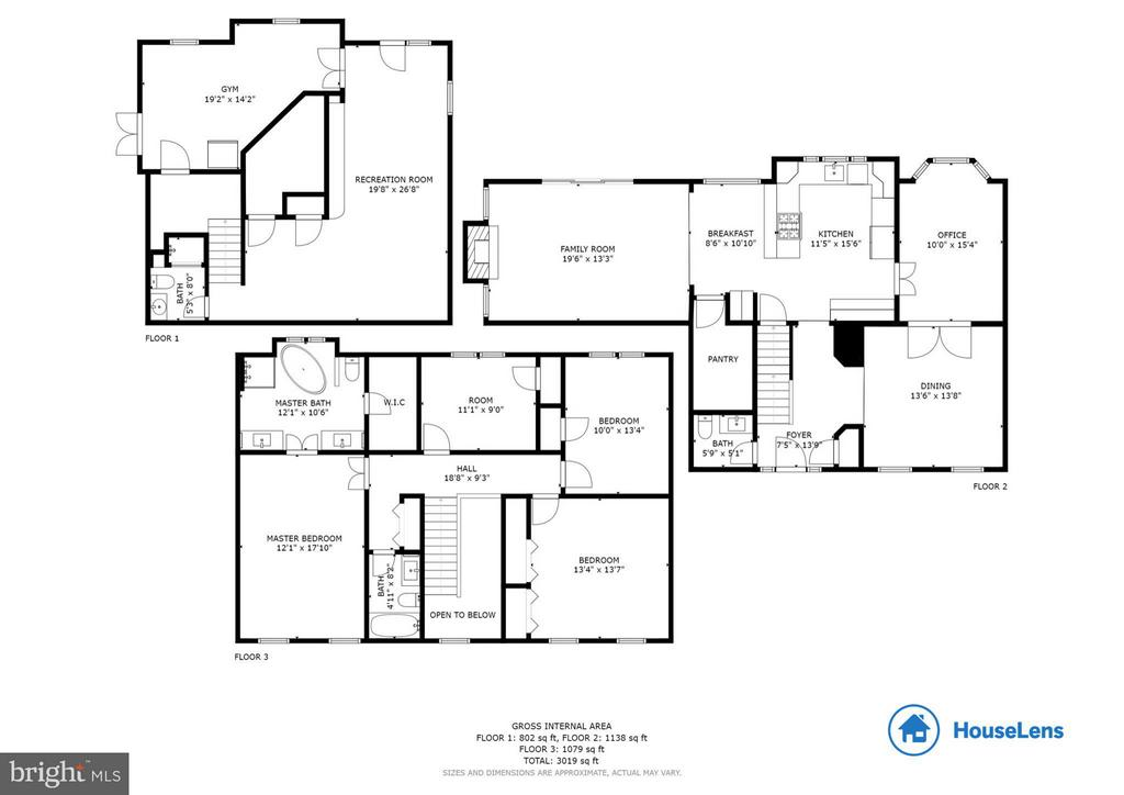 floor plan - 8808 TELEGRAPH CROSSING CT, LORTON